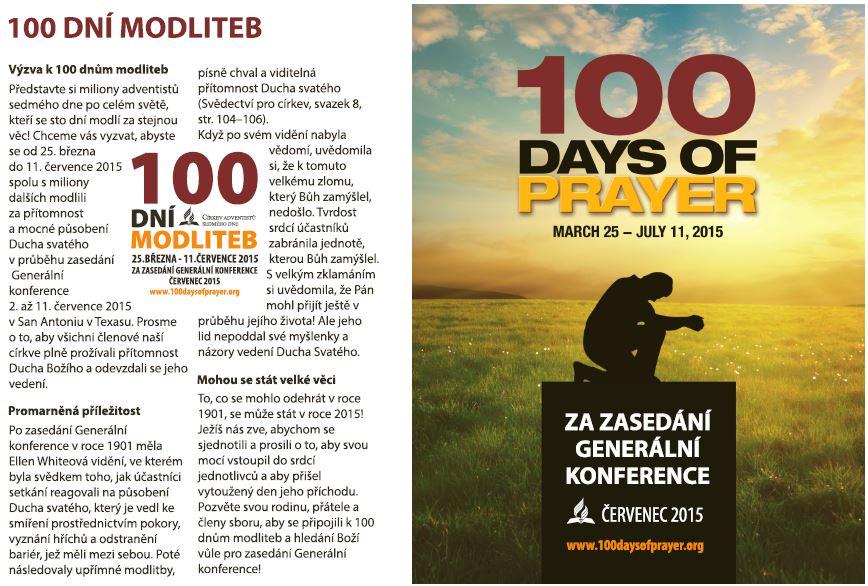 100 dní modliteb