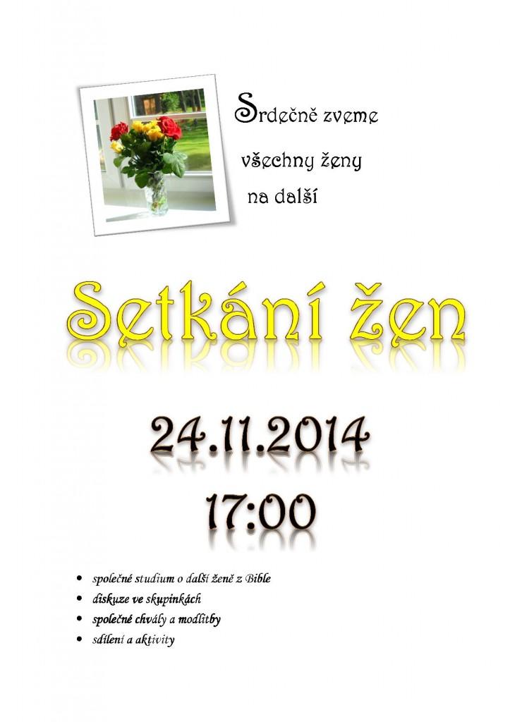24.11.2014 Setkání žen