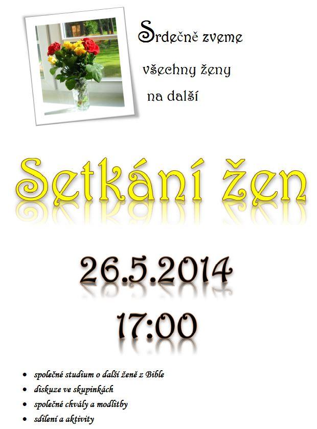 26.5.2014 Setkání žen